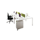 Modern Healthy Working Style White Colour Wooden Office Furniture Table Modular Workstation Staff Desk