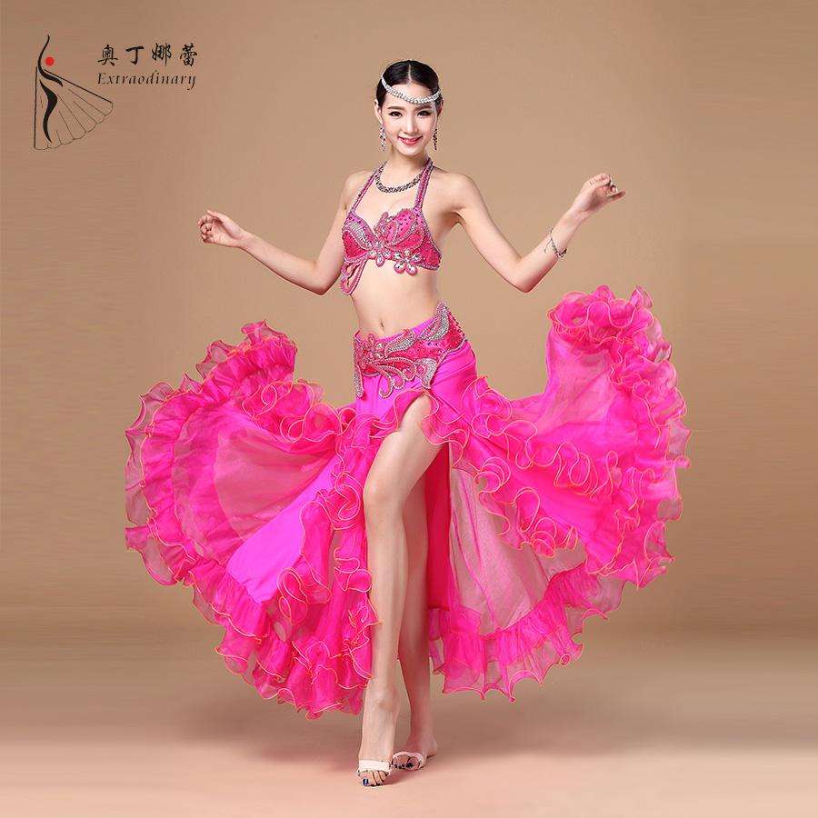 Women Sexy Dance Clothing Professional Belly Dance Costume for Performance China фото