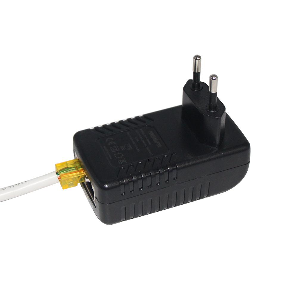 60w 90w Gigabit Medium Converter Dual Circuit Grt 480050a Patch Panel 24v 48v Reverse 50w High Power Poe Injector