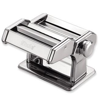 ماكينة تصنيع الباستا الصغيرة اليدوية المصنوعة من الفولاذ المقاوم للصدأ لصنع المعكرونة الطازجة في المنزل