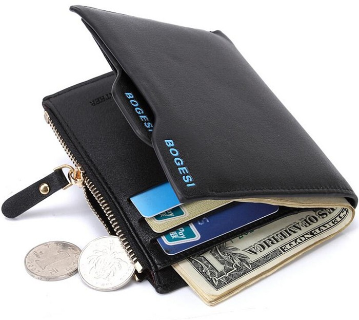 Alibaba express hot sale wholesale bogesi branded pu leather men <strong>wallet</strong>