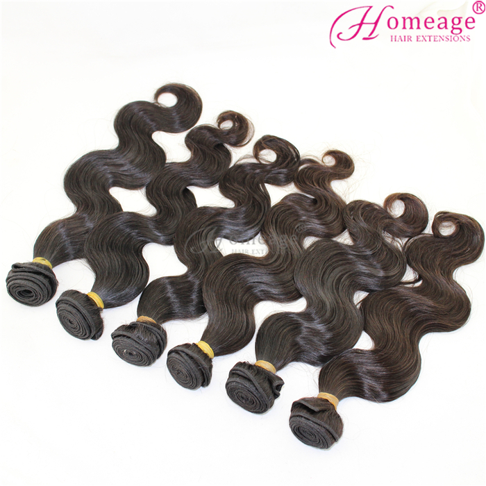 homeage grade 9a virgin hair, organic hair can be perm dyed as you like
