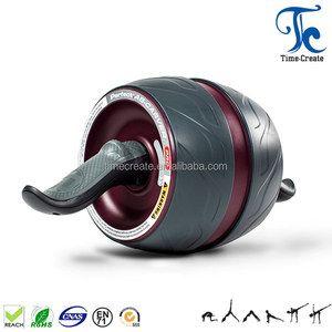 extra wide wheel abdominal exercise automatic springback ab carver wheel