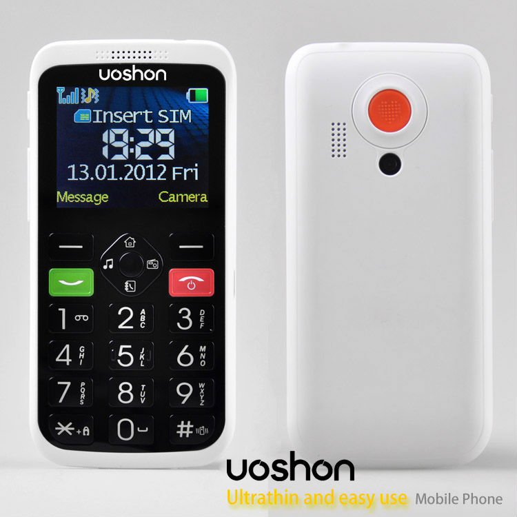 Unlocked Sos Button Mobile Phone Gsm Elderly Guarder Emergency ...