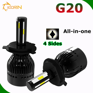 2017 L5 G20 NEW LED Headlight Kit G5 G6 L6 Headlight 60w 80w 96w H1 H3 H4 H7 H8 H9 H11 H13 H15 9004 9007 880 D2 12 led car light