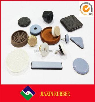 Wooden Rubber Adhesive Felt Rubber Chair Furniture Floor Protector Custom  Adjustable Plastic Teflon Glides/slidesfurniture