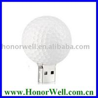 Oem Logo Free Promotion Gift Golf Ball Usb Drive