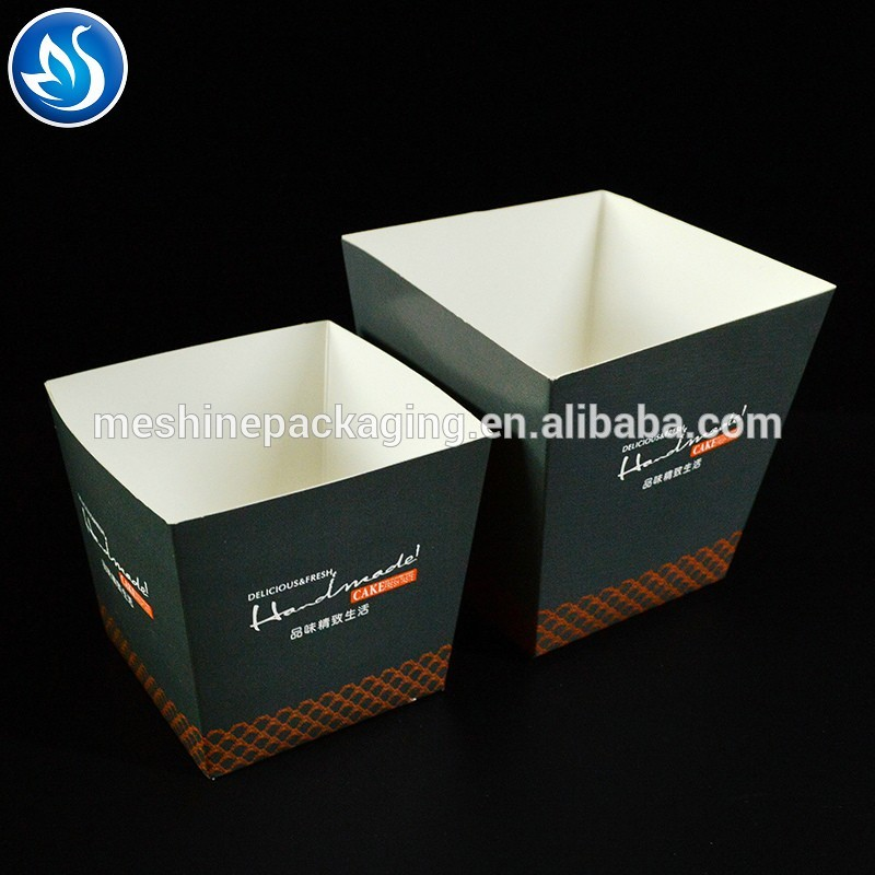 Disposable tall cake box