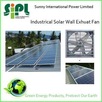 Green Energy Aluminum Matrial Large Solar Wall Mounted