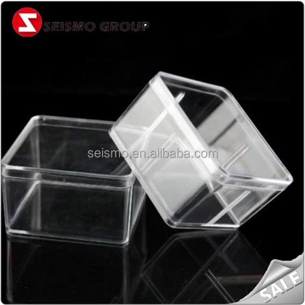 plastic gift box case plastic disposable sweet box