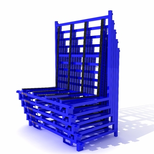 Glass transportation / Storage Steel Rack