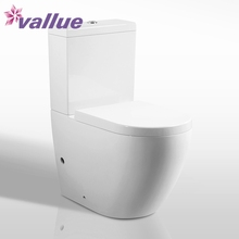 High quality one piece ceramic sanitaryware ecological women wc toilet