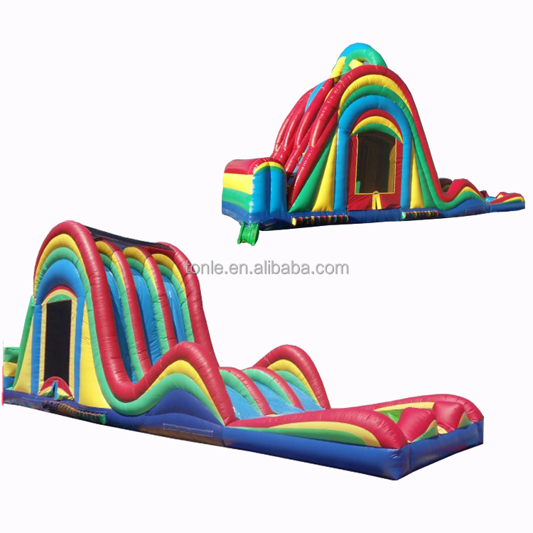 Xtreme inflatable Waterfall Triple Slide for sale