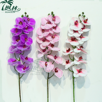 Pabrik plastik lateks nyata sentuh buatan anggrek anggrek bunga. Lihat  gambar lebih besar cce51dc494