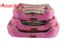 COOBYPET 2450 Cheap hot sale colorful print sweet dreams dog beds