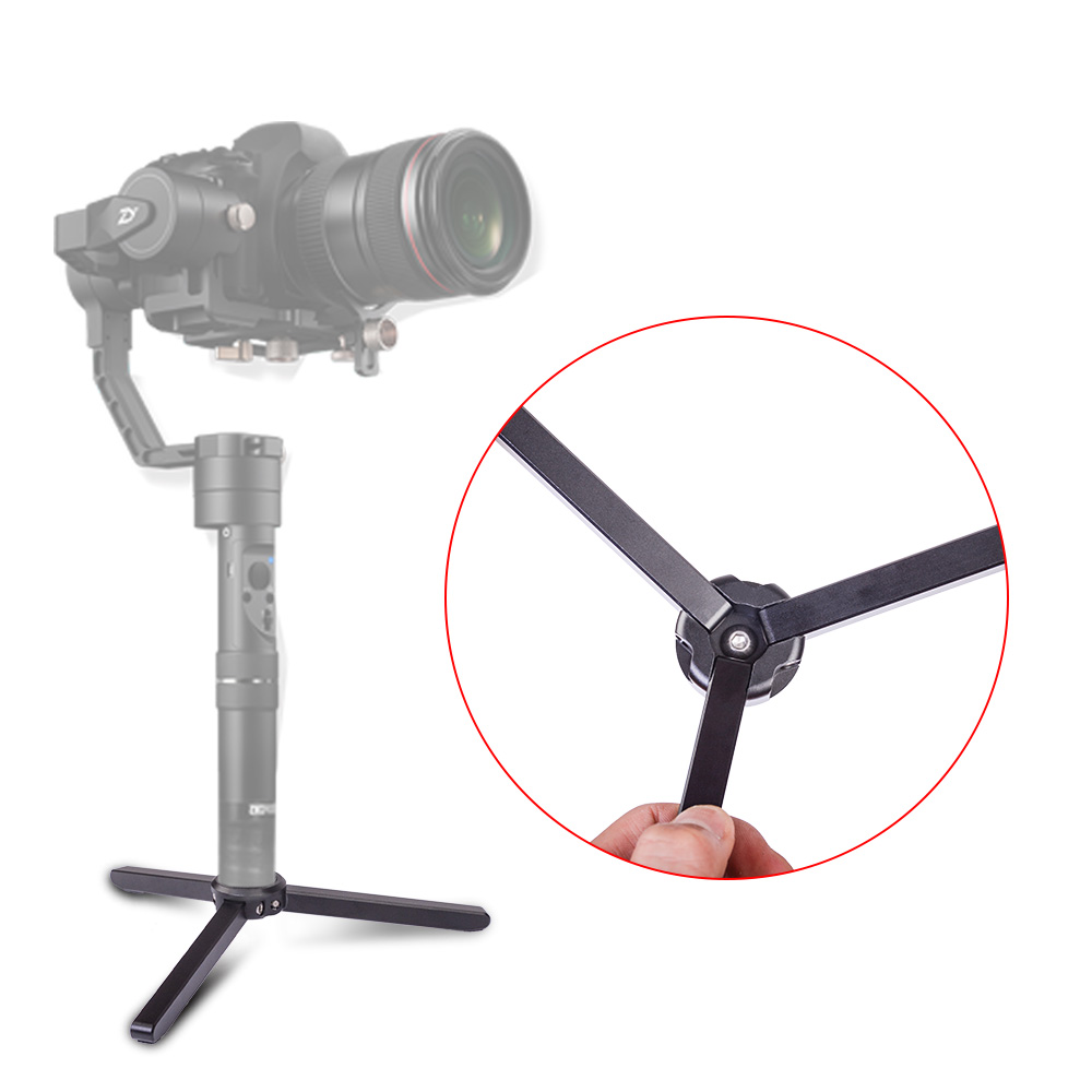 Alloy Aluminum Mini Table Tripod Monopod for ZHIYUN Crane 2/Crane M/Smooth Q/Smooth 3/Evolution/FEIYU A1000/A2000/MOZA/OSMO