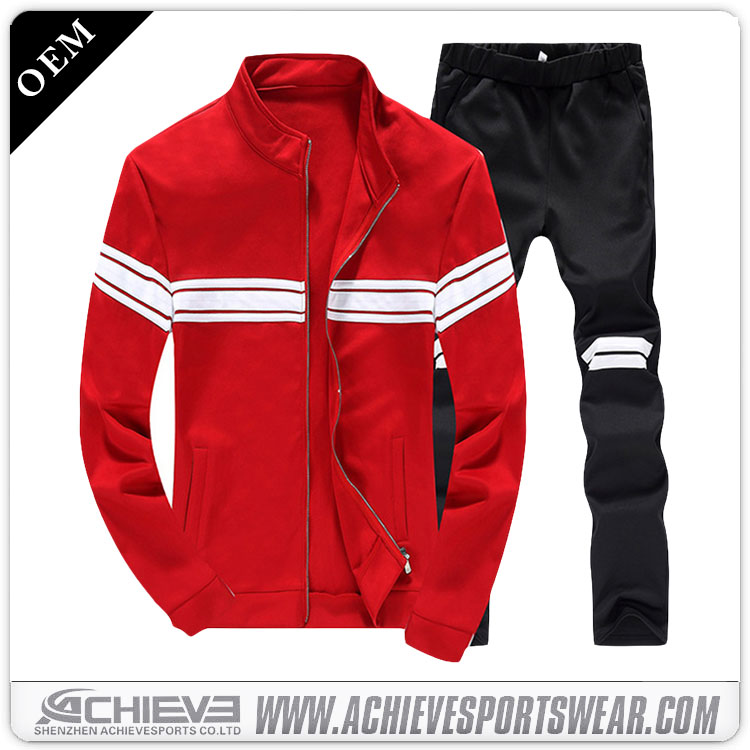 wholesale custom sublimation men joggers sweatsuit