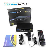 High quality iptv web tv decoder free to air digital STB satellite receiver korea