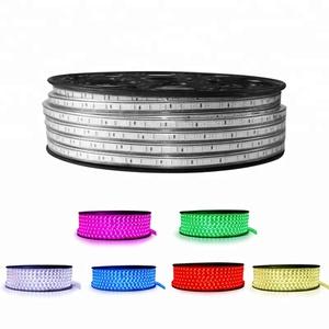 Factory Price 220V SMD5050 RGB Led Chip10M Flexible RGB Led Strip