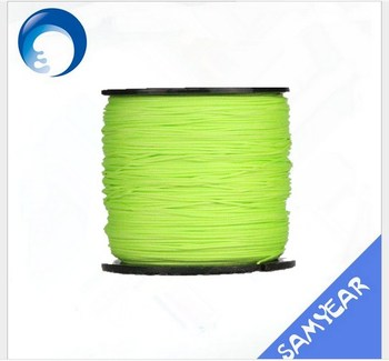 Hot selling fluo green line counter fishing tackle with low price