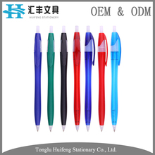 HF5208B OEM cheap price promotional plastic bic banner ball pen with custom logo