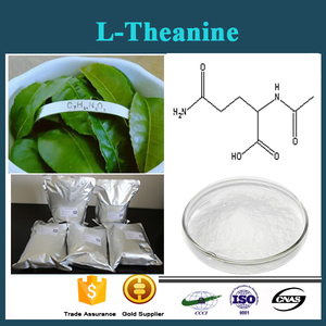 100%Water-soluble Organic Green Tea Extract 20%-99% Theanine