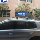 Shenzhen factory taxi roof sign top advertising screen taxi led display