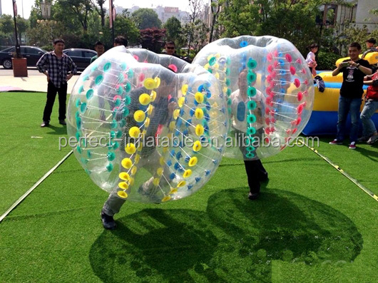 Excited inflatable bumper ball human bubble ball inflatable bubble soccer ball