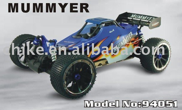 1:5 scale 30cc 4WD gas-powered RC Car, RTR