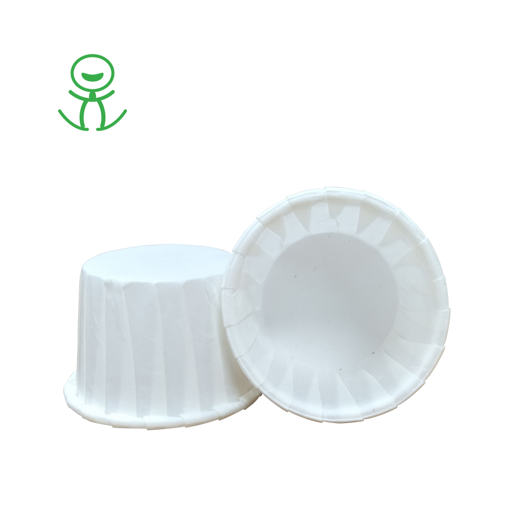 Single layer coated paper cupcake wrappers