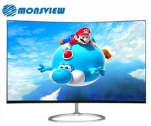 Full HD Hight resolution 1920*1080 Curved 23.6 inch LED Gaming Computer Monitor