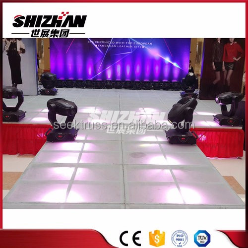 Popular mobile aluminum/plywood folding <strong>stage</strong> for fashion show