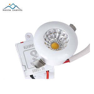 Removable spring clip 1w min COB high efficiency led recessed downlight