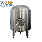 100L 300L 500L 1000L 2000L 4000L stainless steel brite equipment bright beer tank for beer storage
