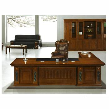 Luxury modern wood office executive desk furniture