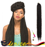 Top Selling Cheap Price Havana Mambo Twists Synthetic Braiding Havana Braids Fashion Crrochet Hair