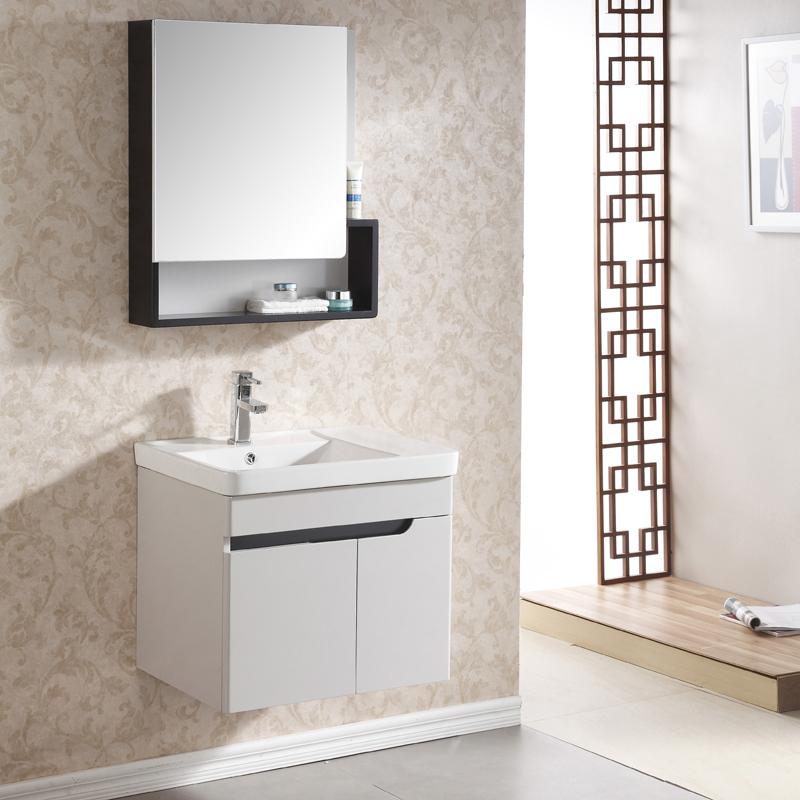Minimalist Bathroom Items: Goods Collar Oak Plywood Bathroom Cabinet Vanity Washbasin