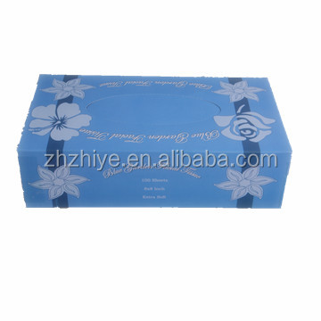Box Facial Tissue 2ply 100 sheets/box OEM custom printed box