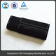 Portable Black Velvet Cylinder antique simple design Jewelry Roll wooden box