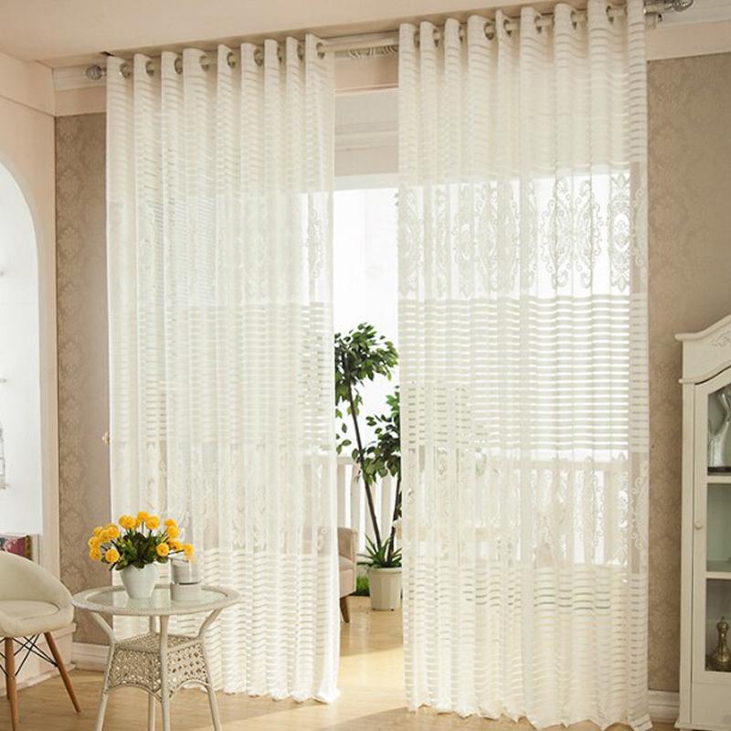 rideaux blanc pour salon avec des id es int ressantes pour la conception de la. Black Bedroom Furniture Sets. Home Design Ideas