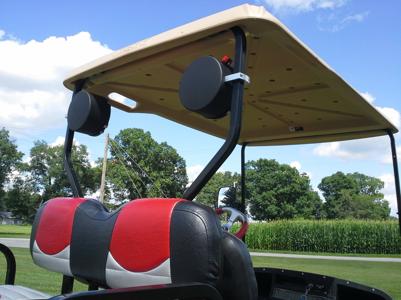 Golf Cart Speaker Location on golf cart remote control, golf cart wiring, golf cart material, golf cart width, golf cart color,