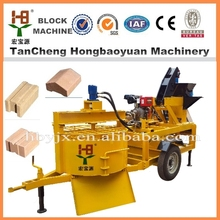 diesel engine block and brick making machine M7MI TWINS clay brick moulding machine