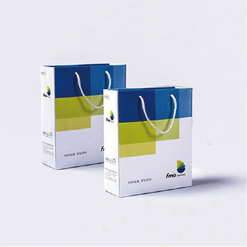 foldable custom printed promotional retail gift paper shopping bag