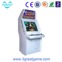 Indoor electronic stimulate fighting game machine