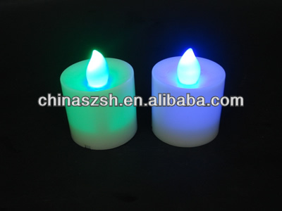 Enviromental Light Up Rechargeable LED Candle