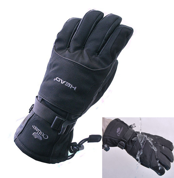 HEAD New Men's Snowboard Snowmobile Gloves Winter Ski