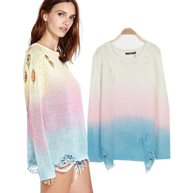 Compra crochet sweater suéter online al por mayor de China