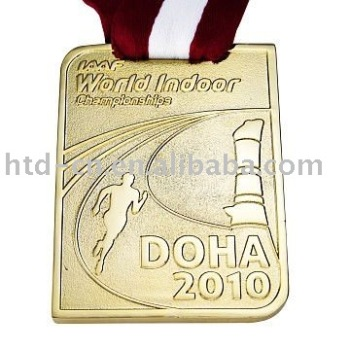 medal custom medallion logo customized high free red quality medaille gold pins shipping riboon in item