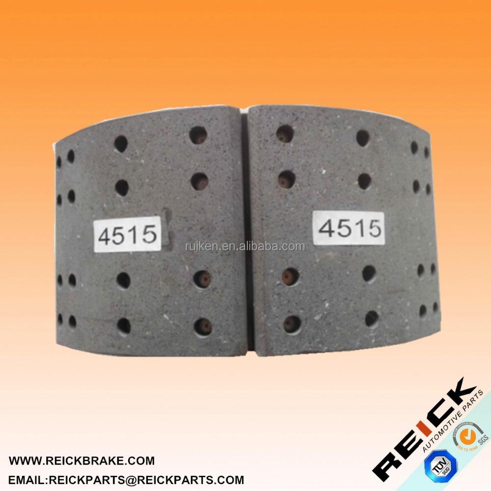 Semi Truck Brake Lining : Hoge kwaliteit heavy truck brake voering product id