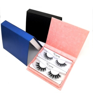 25 mm length mink eyelash 3d mink lashes wholesale custom label lash box
